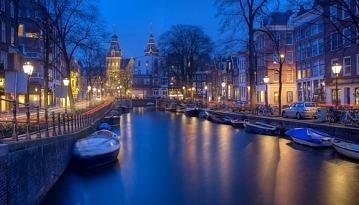 Летим в две стороны из Москвы в Амстердам всего за 9500 рублей!